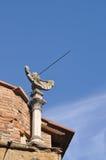 Старые солнечные часы в Флоренсе Италии Стоковые Фотографии RF