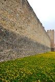Старые средневековые стены Marostica в Виченца в венето (Италия) Стоковое Фото