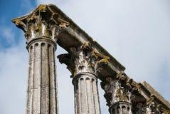 Старые старые римские столбцы Стоковое Фото