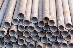 Старые стальные трубы Стоковые Изображения