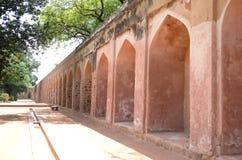 Старые стены в Индии Стоковое Фото