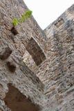 Старые стены замка Стоковые Фото