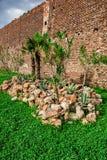 старые стены Стоковое Фото