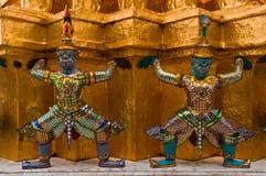 Старые тайские священные гиганты стоковое фото