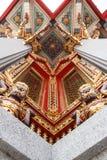 Старые тайские священные гиганты стоковое фото rf