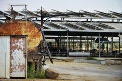 Старые танки тележки Стоковое Изображение RF
