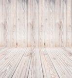 Старые текстура и предпосылка планки древесины сосны Стоковая Фотография RF