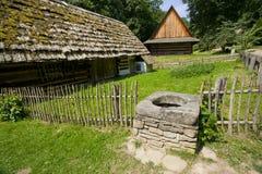 Старые традиционные дома Стоковое Изображение RF