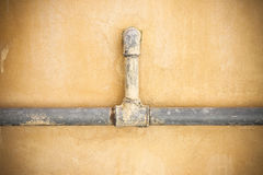 старые трубы водопровода Стоковое Фото