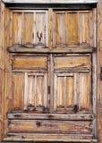 Старые увяданные деревянные штарки Стоковое Изображение