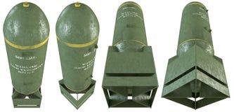 старые установленные бомбы 3d Стоковые Фото