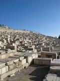 Старые усыпальницы в Иерусалиме Стоковые Фото