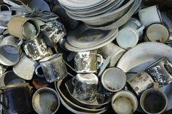 Старые утвари металла Стоковая Фотография RF