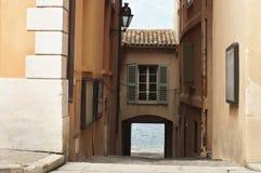 Старые улицы и здания стоковая фотография