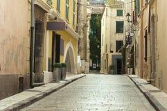 Старые улицы и здания стоковые фото
