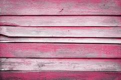 Старые фиолетовые деревянные планки Стоковые Изображения RF