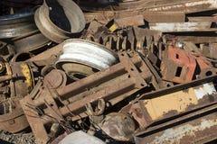 старые части Стоковые Фотографии RF