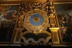 Старые часы гороскопа Стоковые Изображения