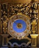 Старые часы гороскопа Стоковое Изображение