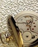 Старые часы Стоковое Изображение RF