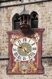 Старые часы Стоковое Фото