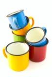 Старые чашки Стоковые Фотографии RF