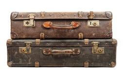 старые чемоданы стоковое изображение rf