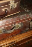 старые чемоданы Стоковая Фотография
