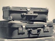 старые чемоданы Стоковые Изображения RF