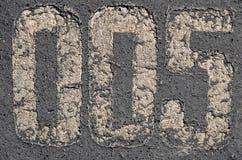 Старые числа надписи на мостоваой стоковые изображения