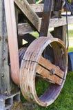 Старые шкив и пояс Стоковая Фотография