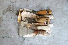 Старые шпатели Стоковые Фото