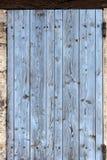Старые штарки окна, закрытые Стоковые Фотографии RF