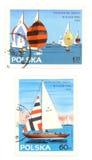 старые штемпеля sailing почтоваи оплата Стоковое Фото