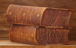 Старые энциклопедии Стоковое Изображение RF