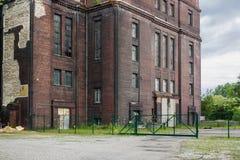 Старые электростанции здания Стоковые Фотографии RF