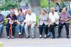 Старые люди Стоковые Изображения RF