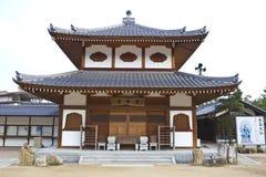 Старые японские деревянные дома стоковое изображение rf