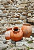 Старые amphorae Стоковые Изображения RF