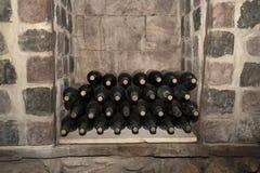 Старые botles вина Стоковое Фото