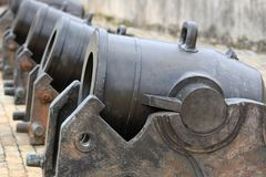 Старые cannos Стоковое Изображение RF