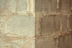 Старые grunge кирпичной стены краски шелушения и пакостный, предпосылка Стоковые Фотографии RF