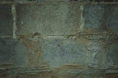 Старые grunge кирпичной стены краски шелушения и пакостный, предпосылка Стоковое Изображение