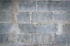 Старые grunge кирпичной стены краски шелушения и пакостный, предпосылка Стоковая Фотография