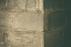 Старые grunge кирпичной стены краски шелушения и пакостный, предпосылка Стоковая Фотография RF