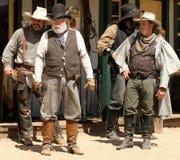 Старые Gunfighters Диких Западов стоковое изображение