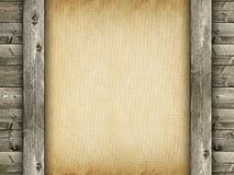Старые handmade бумага и древесина стоковое фото