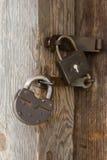 старые padlocks стоковые фото