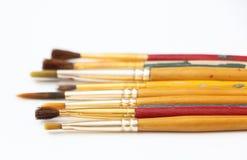 Старые Paintbrushes 4 Стоковые Изображения RF