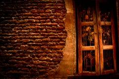 Старый абстрактный дом Стоковые Изображения RF